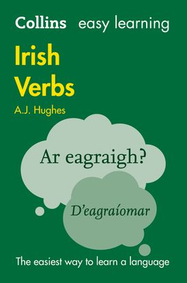 Easy Learning Irish Verbs: Trusted support for learning (Collins Easy Learning)