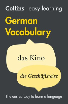 Easy Learning German Vocabulary