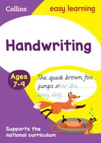Handwriting Ages 7-9: New edition (Collins Easy Learning KS2) Paperback  by Collins Easy Learning