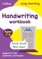 Handwriting Workbook Ages 7-9: New edition (Collins Easy Learning KS2) Paperback  by Collins Easy Learning