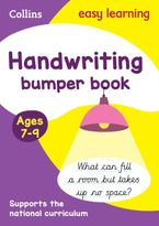 Handwriting Bumper Book Ages 7-9 (Collins Easy Learning KS2) Paperback  by Collins Easy Learning