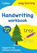 Handwriting Workbook Ages 5-7 (Collins Easy Learning KS1) Paperback  by Collins Easy Learning