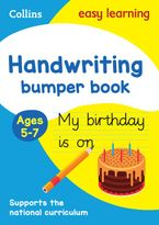 Handwriting Bumper Book Ages 5-7 (Collins Easy Learning KS1) Paperback  by Collins Easy Learning