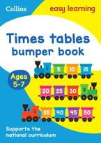 Times Tables Bumper Book Ages 5-7: Prepare for school with easy home learning (Collins Easy Learning KS1) Paperback  by Collins Easy Learning