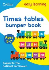 Times Tables Bumper Book Ages 5-7 (Collins Easy Learning KS1)