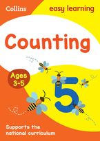 Counting Ages 3-5: New Edition (Collins Easy Learning Preschool) Paperback  by Collins Easy Learning
