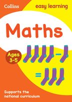 Maths Ages 4-5: New Edition (Collins Easy Learning Preschool) Paperback  by Collins Easy Learning