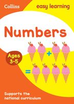 Numbers Ages 3-5: New Edition (Collins Easy Learning Preschool) Paperback  by Collins Easy Learning