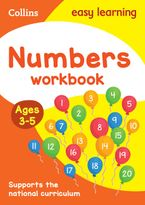 Numbers Workbook Ages 3-5: New Edition (Collins Easy Learning Preschool) Paperback  by Collins Easy Learning