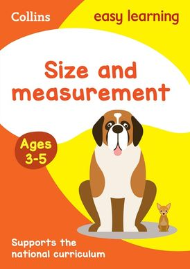 Size and Measurement Ages 3-5: Prepare for Preschool with easy home learning (Collins Easy Learning Preschool)