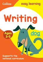 Writing Ages 3-5: New Edition (Collins Easy Learning Preschool) Paperback  by Collins Easy Learning