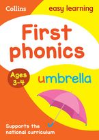 First Phonics Ages 3-4: Prepare for Preschool with easy home learning (Collins Easy Learning Preschool) Paperback  by Collins Easy Learning