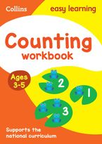 Counting Workbook Ages 3-5: New Edition (Collins Easy Learning Preschool) Paperback  by Collins Easy Learning