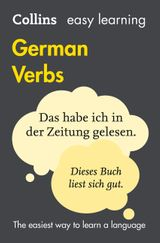 Easy Learning German Verbs (Collins Easy Learning German)