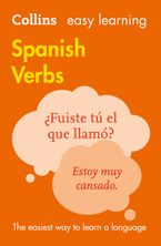Easy Learning Spanish Verbs Paperback  by Collins Dictionaries