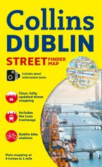 Collins Dublin Streetfinder Colour Map Sheet map, folded NED by Collins Maps