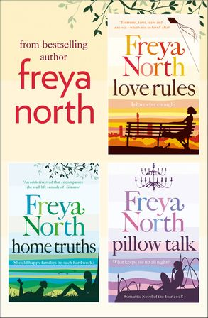 Freya north 3 book collection love rules home truths pillow talk cover image freya north 3 book collection love rules home truths fandeluxe Choice Image