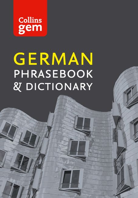 Collins German Phrasebook and Dictionary Gem Edition: Essential phrases and  words (Collins Gem) - Collins Dictionaries - E-book