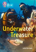 Underwater Treasure: Band 13/Topaz (Collins Big Cat) Paperback  by Juliet Kerrigan