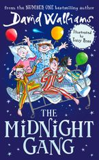 The Midnight Gang Hardcover  by David Walliams