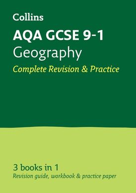 Grade 9-1 GCSE Geography AQA All-in-One Complete Revision and Practice (with free flashcard download) (Collins GCSE 9-1 Revision)