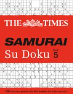 The Times Samurai Su Doku 5: 100 extreme puzzles for the fearless Su Doku warrior Paperback  by The Times Mind Games