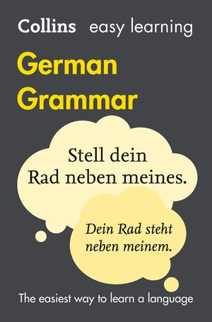Easy Learning German Grammar (Collins Easy Learning German) book image