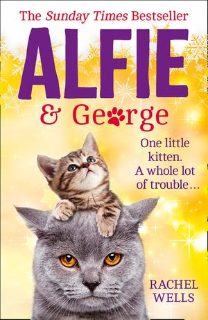 Alfie and George: A heart-warming tale about how one cat and his kitten brought a street together book image