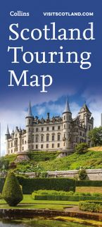 Visit Scotland Touring Map Sheet map, folded NED by Collins Maps