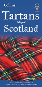 Tartans Map of Scotland (Collins Pictorial Maps) Sheet map, folded NED by Collins Maps
