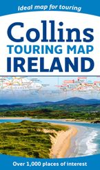 Collins Ireland Touring Map Sheet map, folded NED by Collins Maps