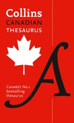 Collins Canadian Thesaurus Paperback  by Collins Dictionaries
