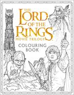 The Lord of the Rings Movie Trilogy Colouring Book Paperback  by Warner Brothers