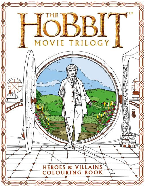 The Hobbit Movie Trilogy Colouring Book Heroes And Villains