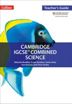 Cambridge IGCSE™ Combined Science Teacher Guide (Collins Cambridge IGCSE™) Paperback  by Malcolm Bradley