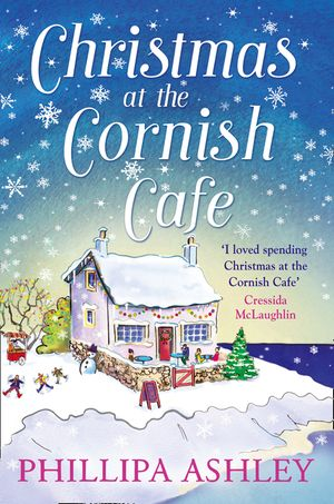 Christmas at the Cornish Café: A heart-warming holiday read for fans of Poldark (The Cornish Café Series, Book 2) book image