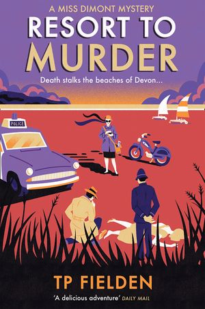 Resort to Murder (A Miss Dimont Mystery, Book 2) book image