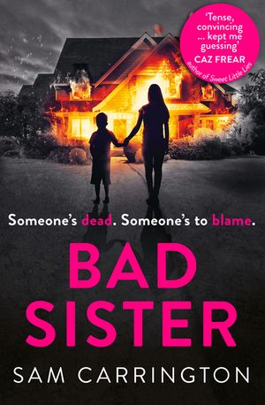 Bad Sister: 'Tense, convincing… kept me guessing' Caz Frear, bestselling author of Sweet Little Lies book image