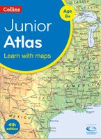 Collins Junior Atlas (Collins Primary Atlases) Paperback  by Collins Maps