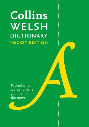 Collins Spurrell Welsh Dictionary Pocket Edition: trusted support for learning book image