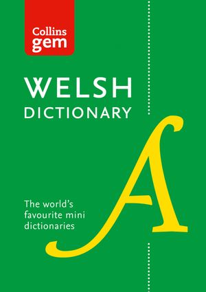 Collins Welsh Dictionary Gem Edition: trusted support for learning book image