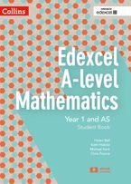Edexcel A-level Mathematics Student Book Year 1 and AS (Collins Edexcel A-level Mathematics) Paperback  by Chris Pearce