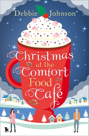 Christmas at the Comfort Food Cafe book image