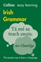 Collins Easy Learning Irish Grammar: Trusted support for learning Paperback  by Collins Dictionaries