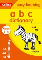 ABC Dictionary Ages 3-4: Prepare for Preschool with easy home learning (Collins Easy Learning Preschool) Paperback  by Collins Easy Learning