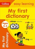 My First Dictionary Ages 4-5 (Collins Easy Learning Preschool) Paperback  by Collins Easy Learning