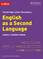Lower Secondary English as a Second Language Student's Book: Stage 9 (Collins Cambridge Lower Secondary English as a Second Language) Paperback  by Anna Cowper