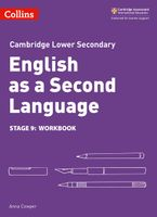 Lower Secondary English as a Second Language Workbook: Stage 9 (Collins Cambridge Lower Secondary English as a Second Language) Paperback  by Anna Cowper