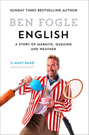 English: A Story of Marmite, Queuing and Weather book image