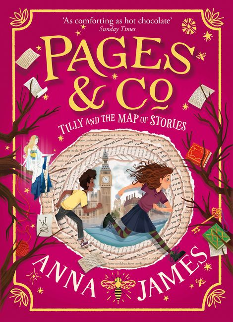 Tilly and the Map of Stories (Pages & Co., Book 3) - Anna James ...